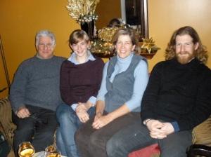 Ian, Kath, Polly and Joe - New Year 2009