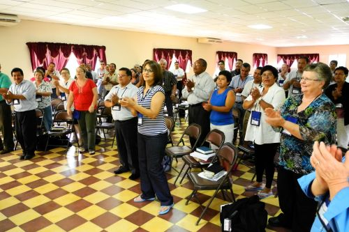 Worship was lively and energetic